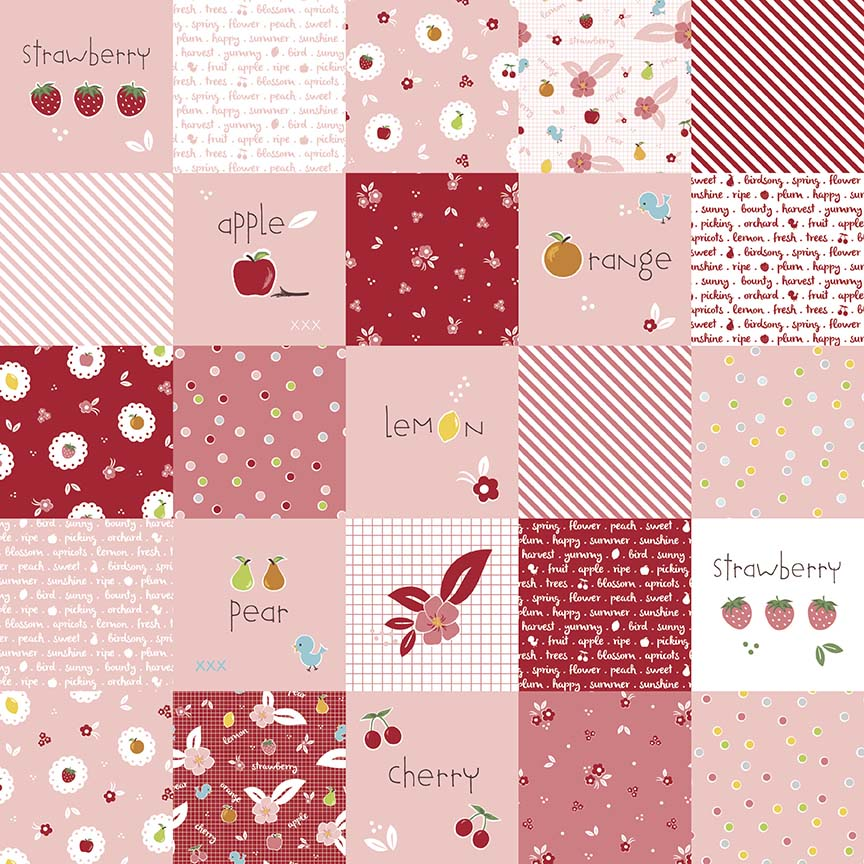 Sweet Orchard - Orchard Patchwork Pink