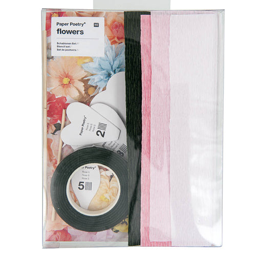 Paper Flower DIY Kit - Rose