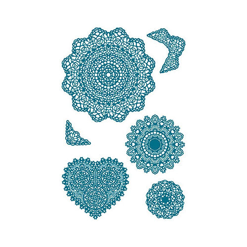 Doilies Acrylic Stamp Set