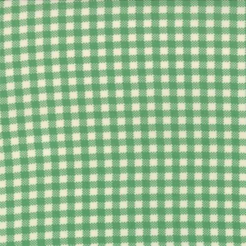 Bonnie & Camille April Showers - Emerald Gingham - BOLT END