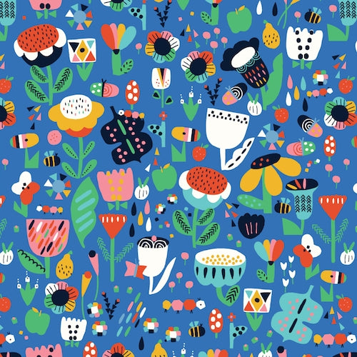 Eden Pop - Dashwood Studio - Flower Garden Blue