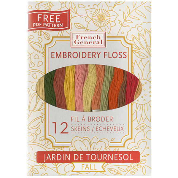 French General Cosmo Embroidery Thread Collection - Autumn