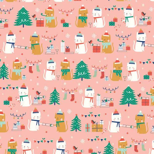 Festive Friends - Dashwood Studio - Festive Cats Pink