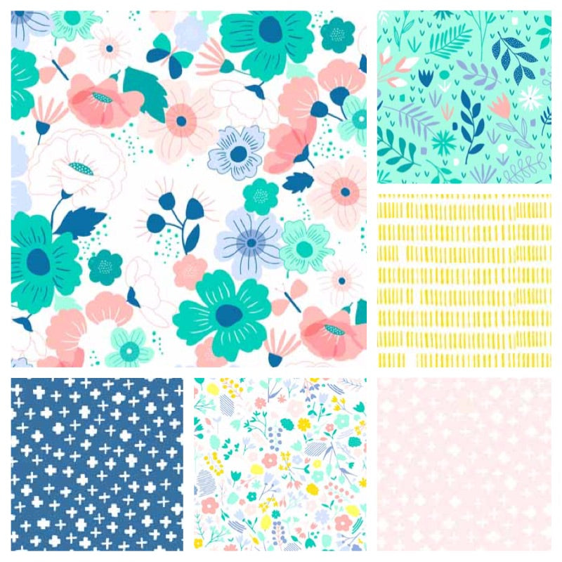 Floral Splendour - Andover - Fabric Bundle