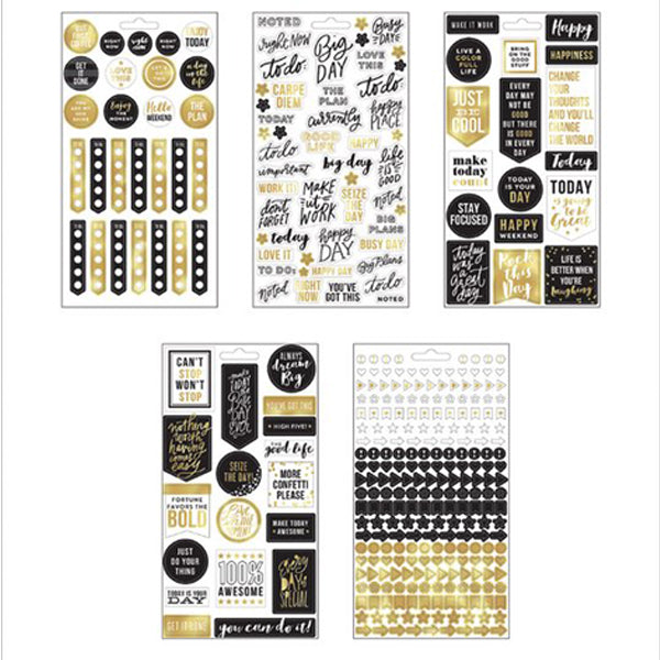 MAMBI Create 365 - Stickers - Gold Seize The Day