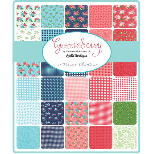 Gooseberry - Lella Boutique - Charm Pack