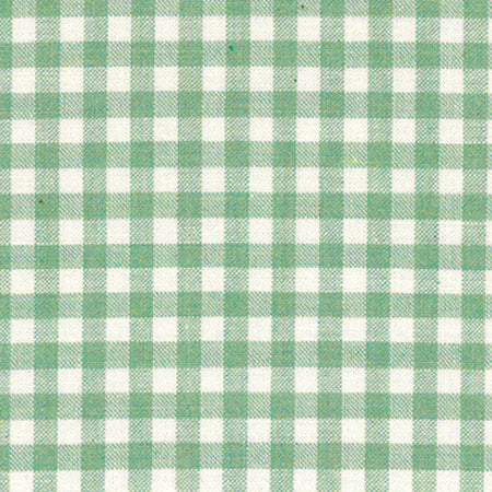 Lecien Yarn Dyed Gingham - Green - BOLT END