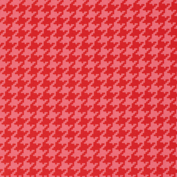 Ginger Snap - Houndstooth Red