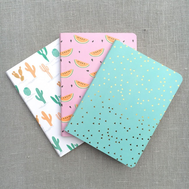 Tropical Spring Notebook Set - A6