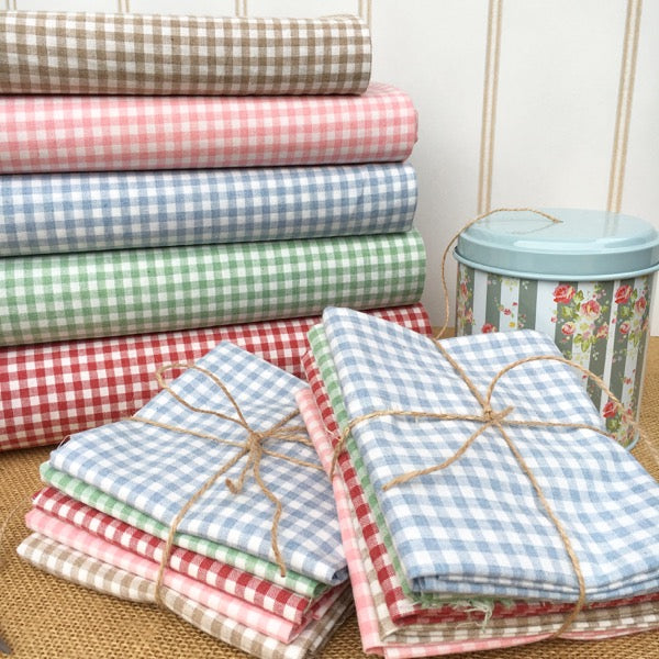 Lecien Yarn Dyed Gingham - Tan
