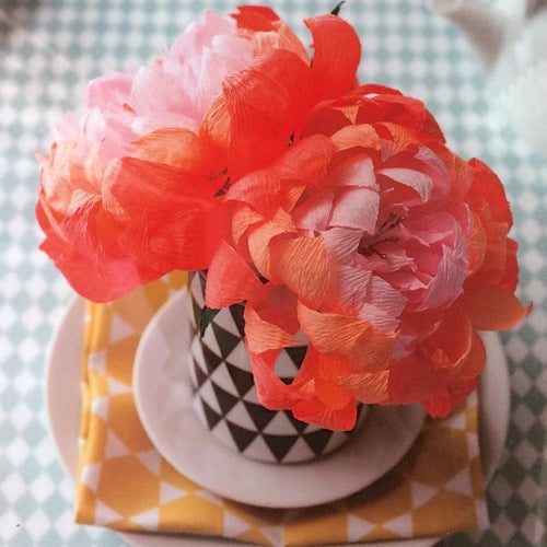 Paper Flower DIY Kit - Chrysanthemum