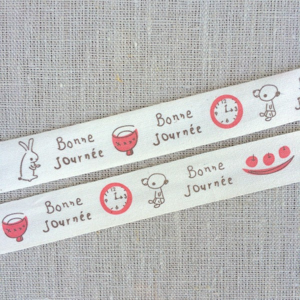 Bonne Journee Zakka Cotton Tape - 20mm