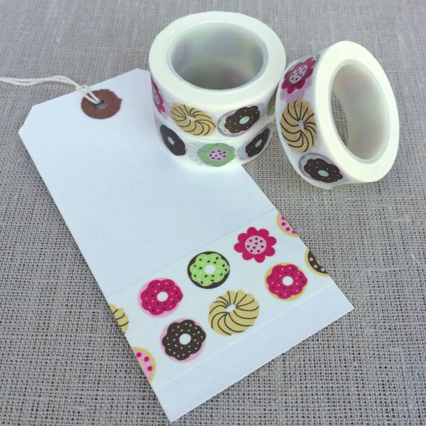 Cute Donut Washi Tape
