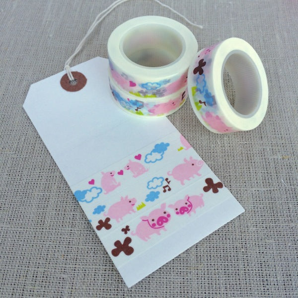 Cute Piggy Washi Tape
