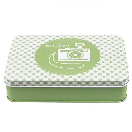 Lori Holt Sewing Tin - Green
