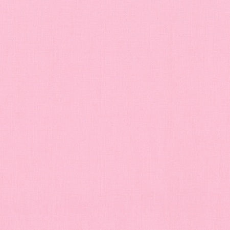 Robert Kaufman Kona Cotton - Baby Pink