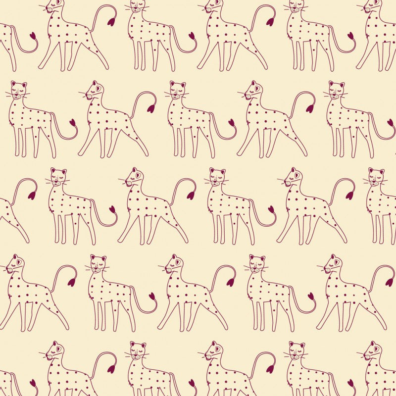 Serengeti - Dashwood Studio - Cream Leopard