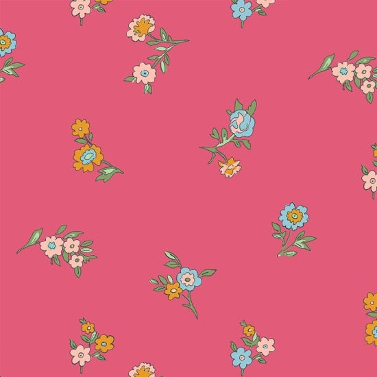 Liberty - The Cottage Garden - Little Vine - Pink