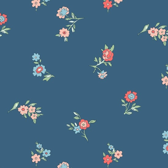 Liberty - The Cottage Garden - Little Vine - Blue