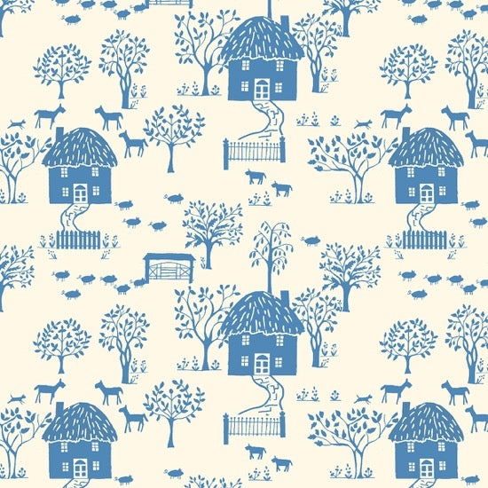 Liberty - The Cottage Garden - Cottage Lane - Blue