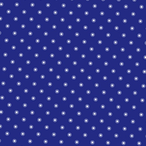 Pam Kitty Garden - Navy Small Ringed