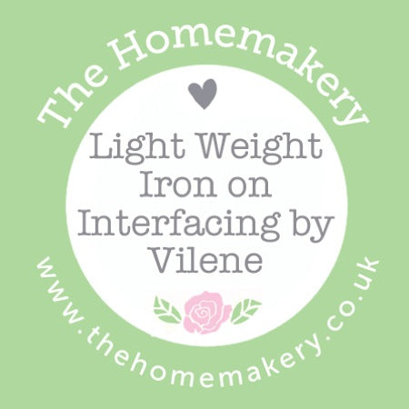 Light Weight Iron on Interfacing by Vilene
