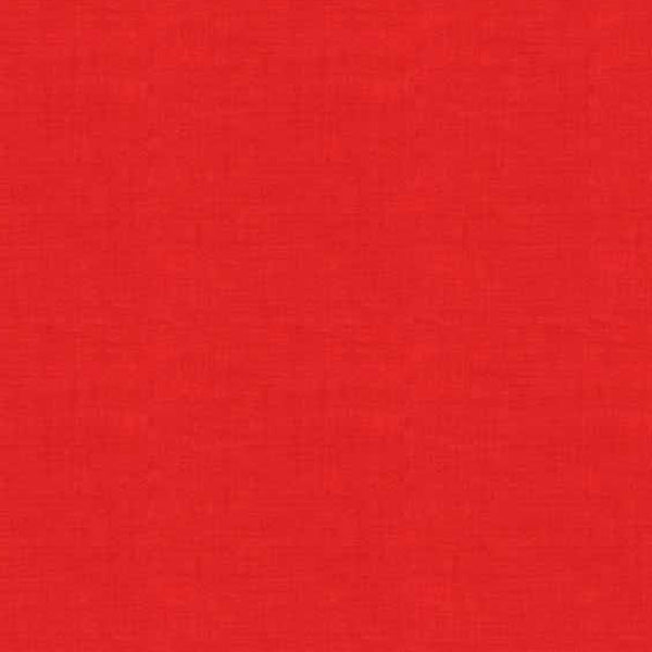 Scandi Basics - Makower - Linen Texture Red