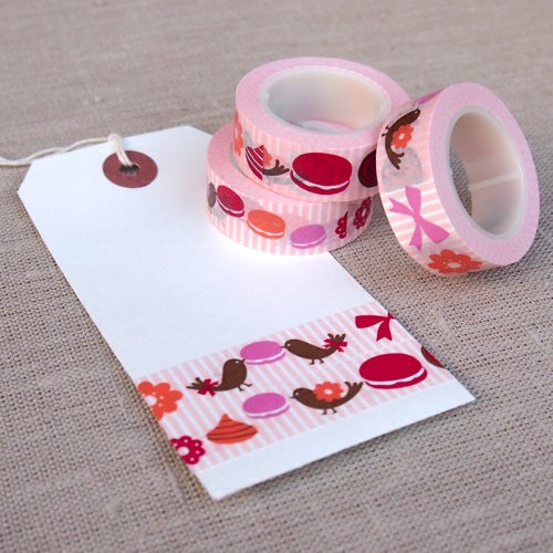 Cute Macaroon Washi Tape