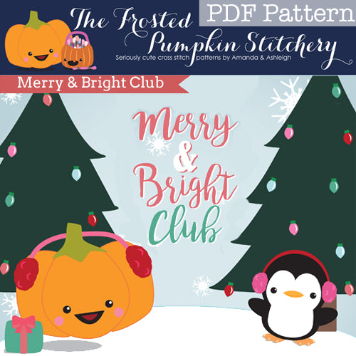 Merry & Bright Club - PDF PATTERN DOWNLOAD