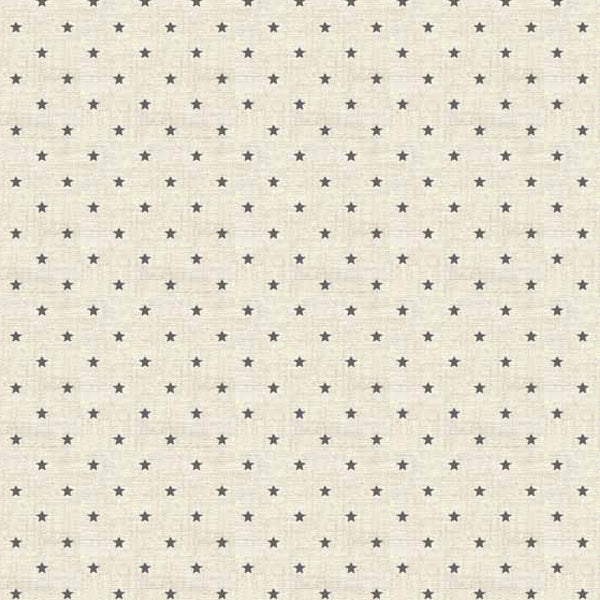 Scandi Basics - Makower - Mini Star Grey
