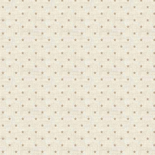 Scandi Basics - Makower - Mini Star Hessian