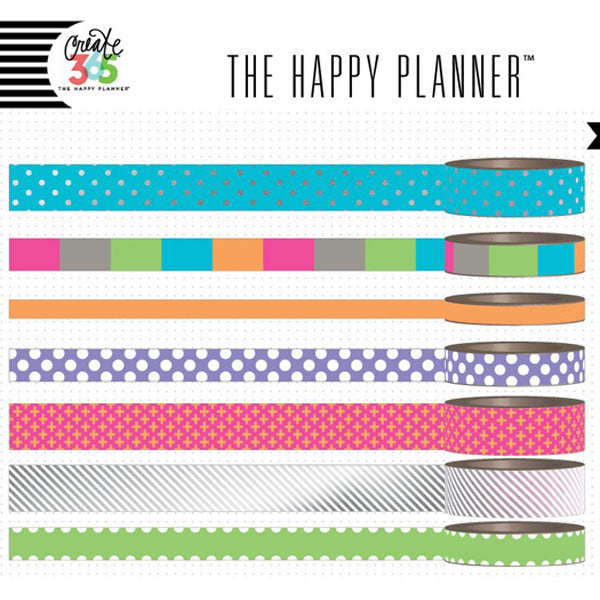 MAMBI Create 365 - Washi Tapes - Neon