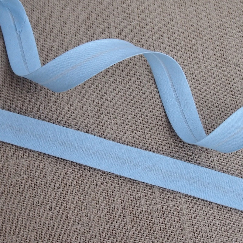 Light Blue Bias Binding -18mm