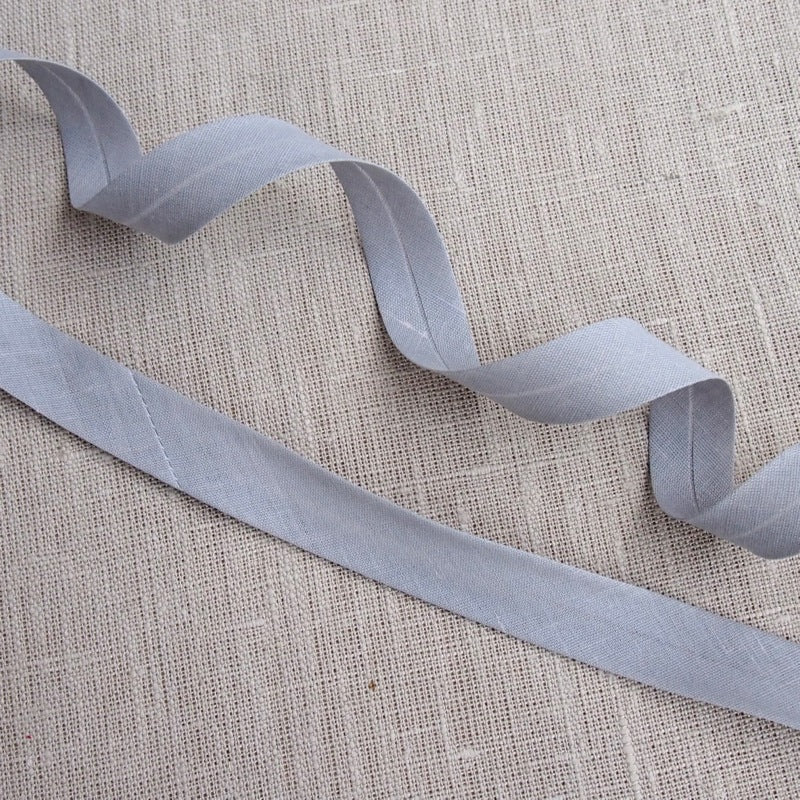 Grey Bias Binding -18mm