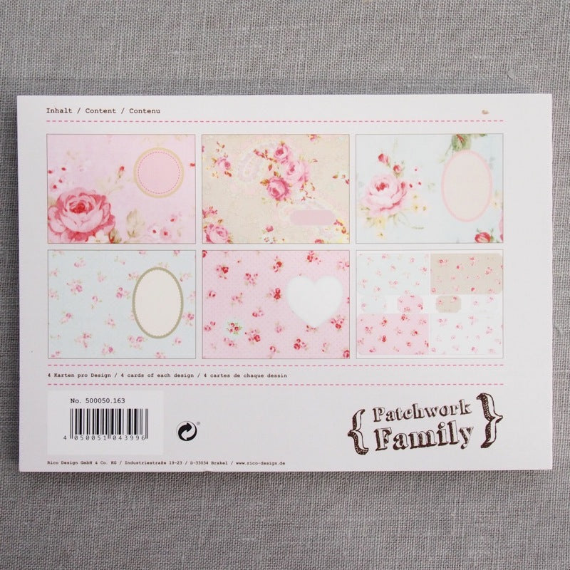 Vintage Card & Label Set - Pastel