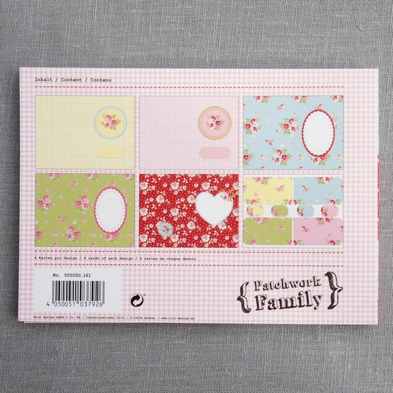 Vintage Card & Label Set - Bright