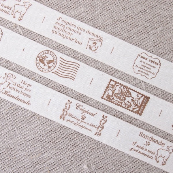 Airmail Zakka Cotton Tape - 20mm