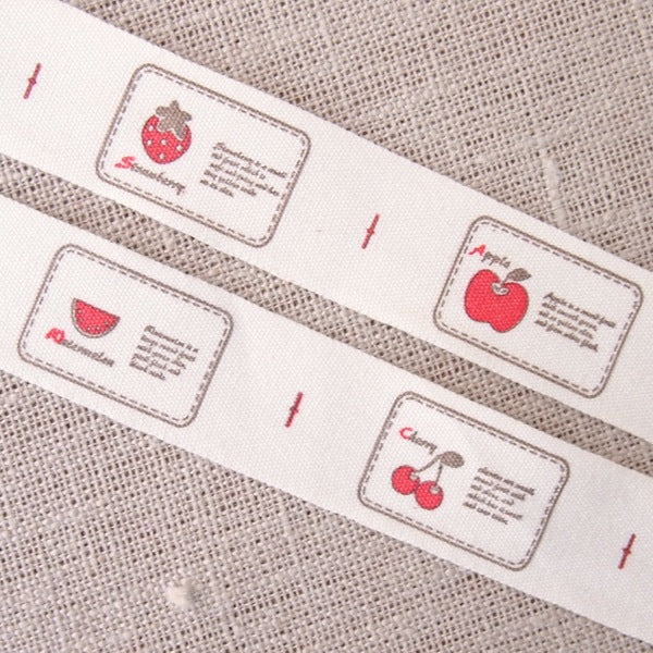 Fruity Zakka Cotton Tape - 20mm