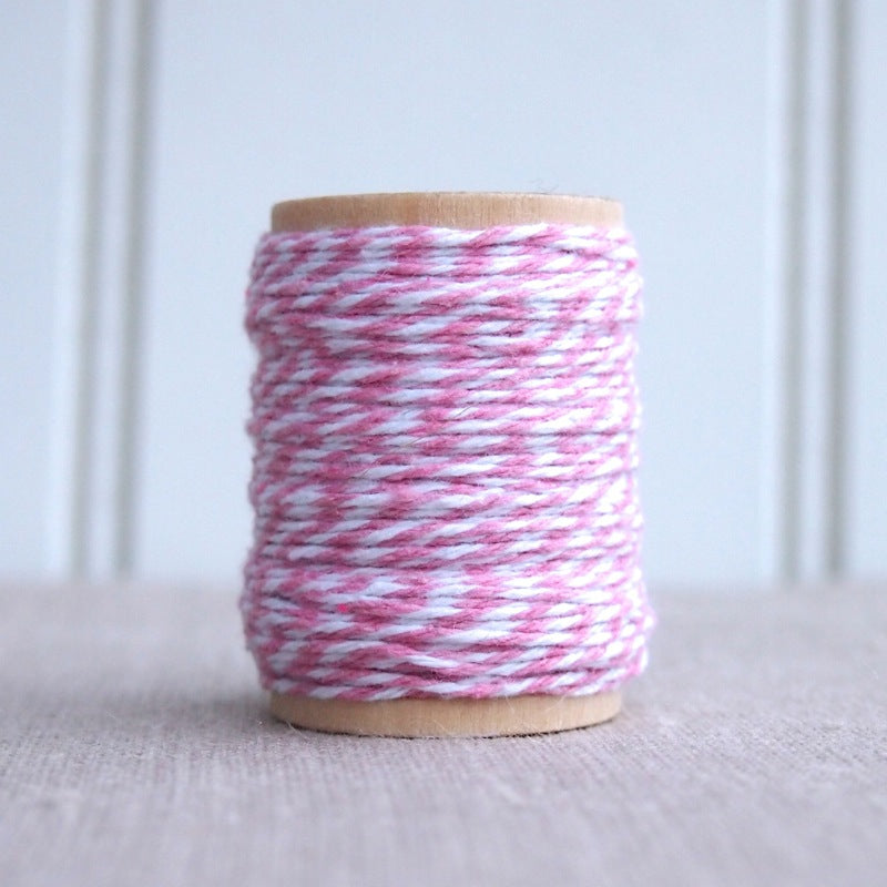 Spool of Bakers Twine - Pink