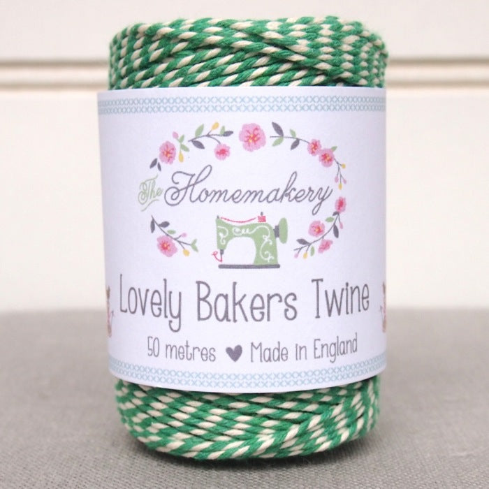 Lovely Baker's Twine - Emerald Green