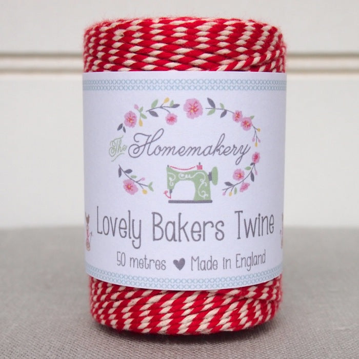 Lovely Baker's Twine - Ruby Red