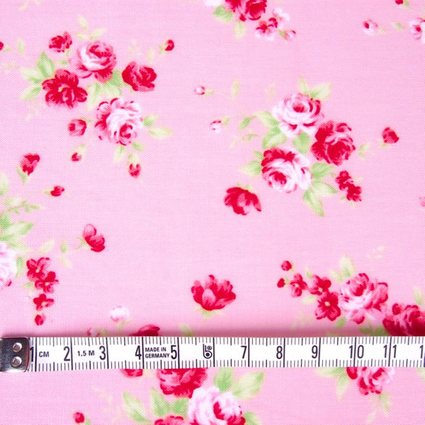 Lecien - Floral Collection - Pink Medium Rose