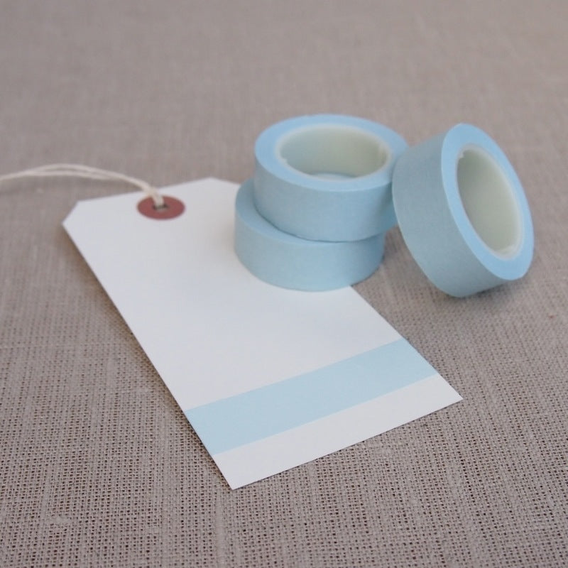 Light Blue Washi Tape
