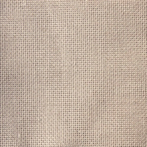 Zweigart Aida 14 Count - Natural Raw Linen