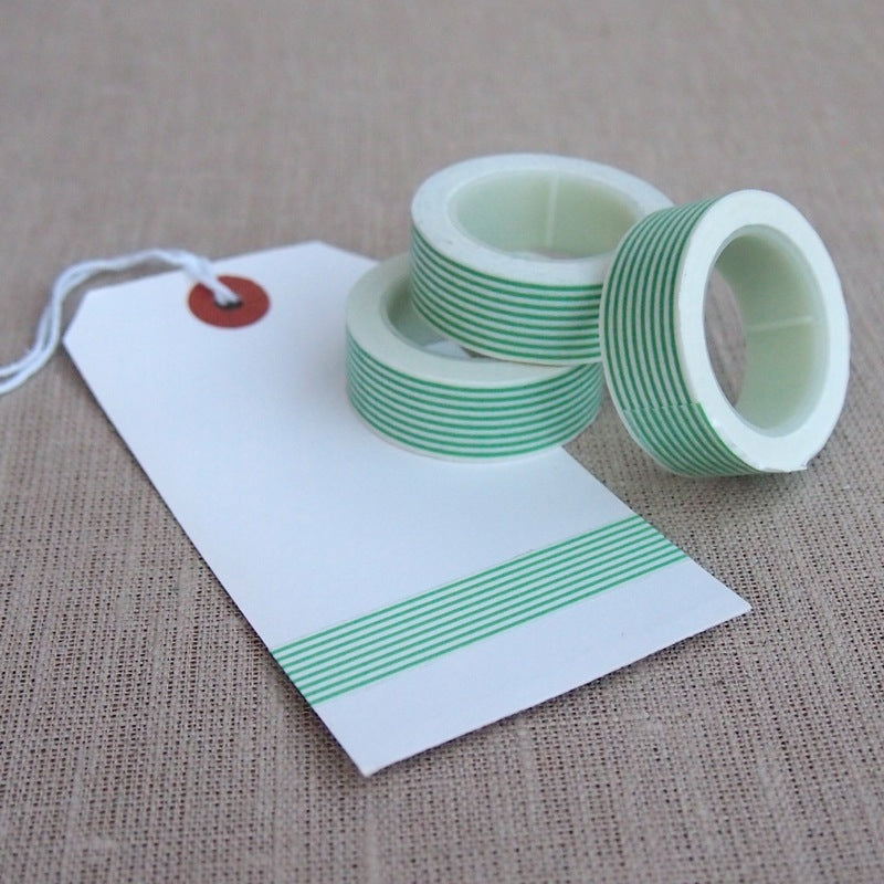 Green Stripe Washi Tape