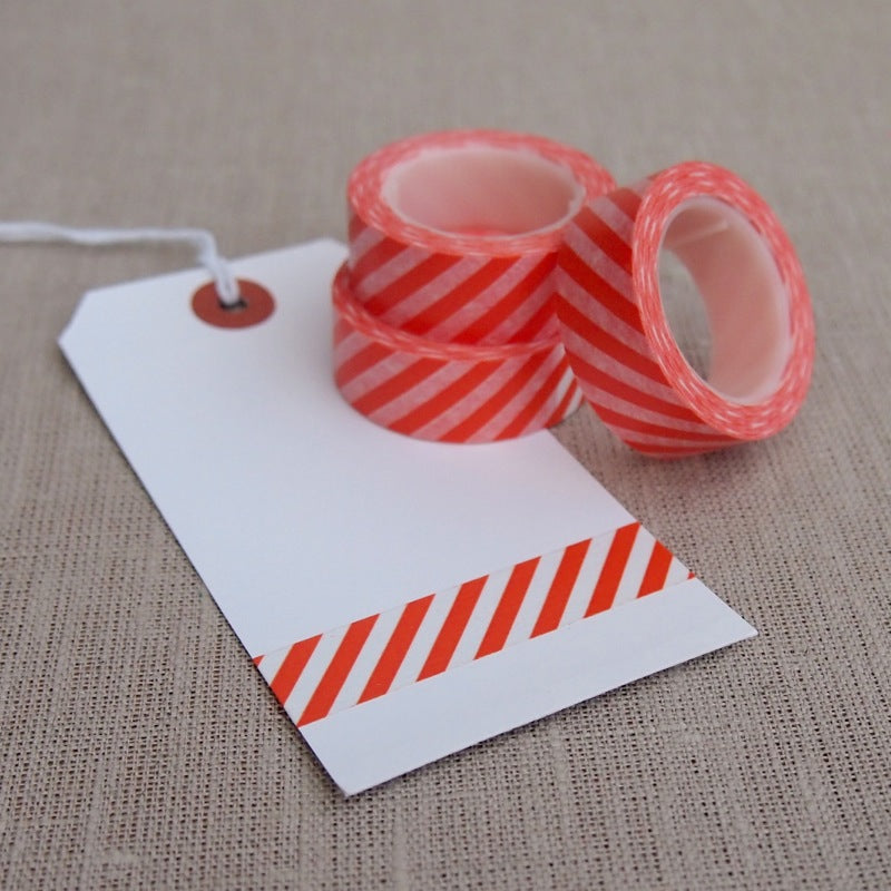 Orange Stripe Washi Tape