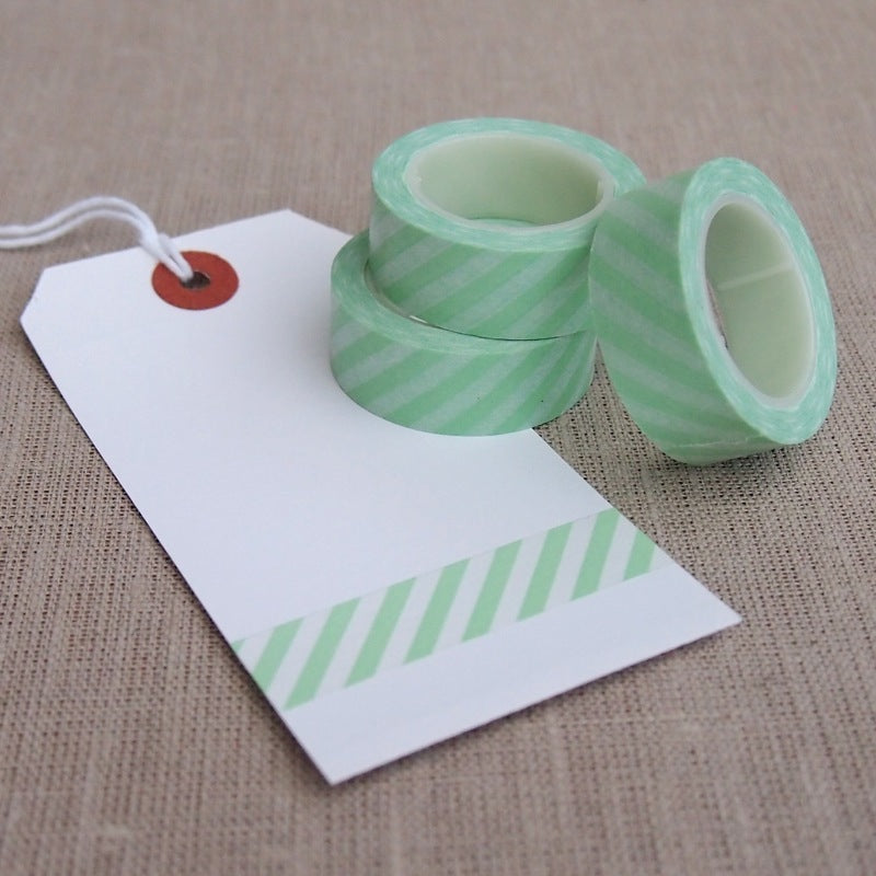 Mint Green Stripe Washi Tape