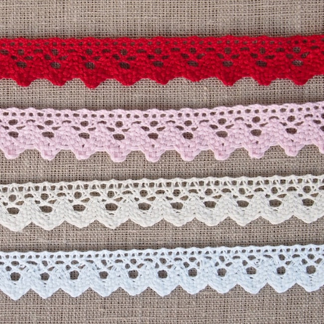 Scalloped Crochet Lace Trim - 20mm