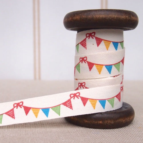 Bunting Zakka Cotton Tape - 15mm