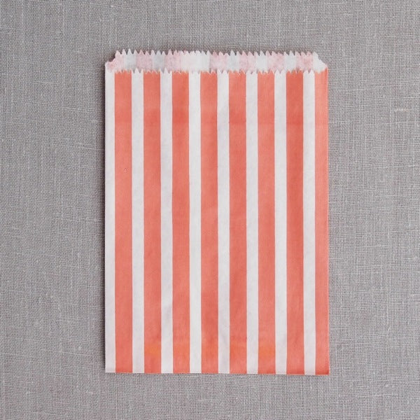 Stripe Paper Bags - Large